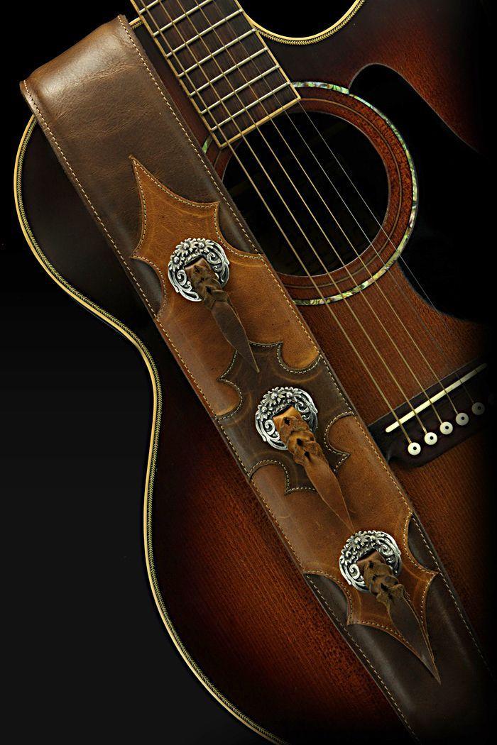 Doonmere Guitar Strap Guitarstraps Guitarras Cuero Instrumentos