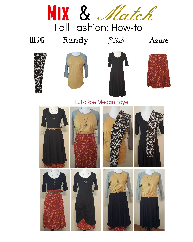 Wardrobe Capsule! LuLaRoe Megan Faye shows you how to mix ...