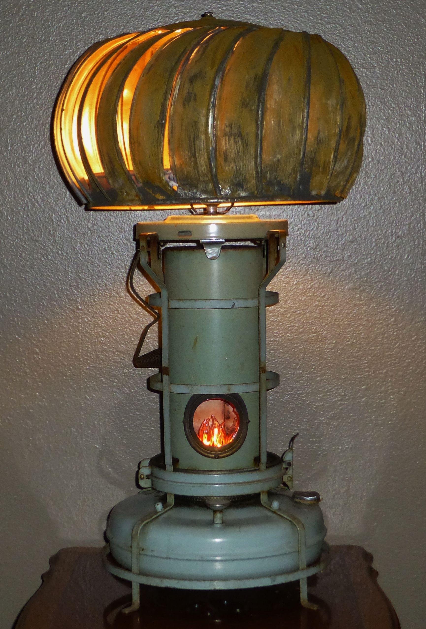Kerosene Heater Lamp J Dooley Things I Ve Re Made In