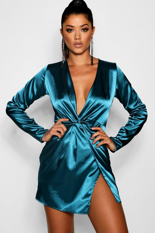 Sexy wrap dress