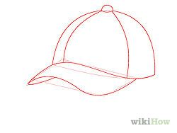How To Draw A Baseball Cap 10 Steps Wikihow Baseball Cap Outfit Cap Drawing Baseball Cap