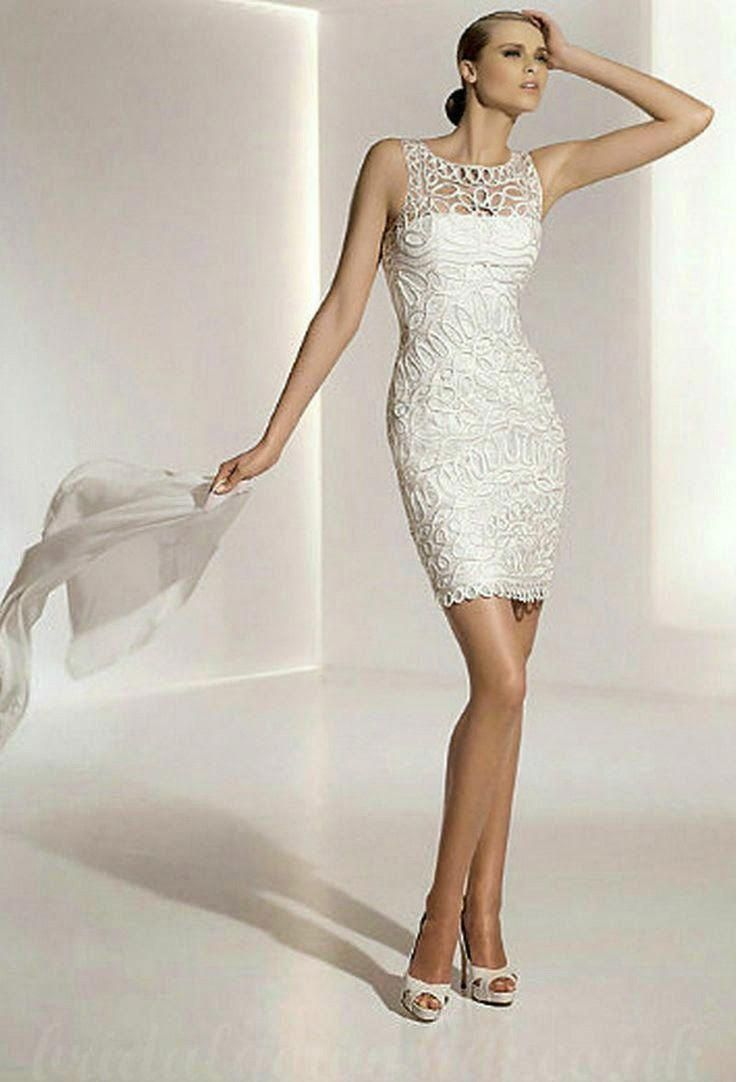 Courthouse wedding dress plus size  second wedding dresses   second marriage short wedding dresses