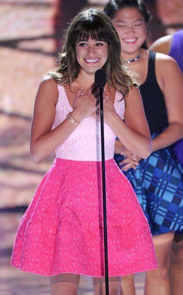 Lea Michele @ Teen Choice Awards 2013. Love, love, LOVE!! Especially the skirt!