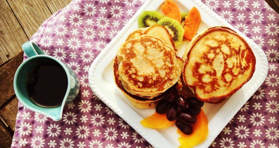 Das Rezept | Ricotta-Pancakes mit Ahornsirup