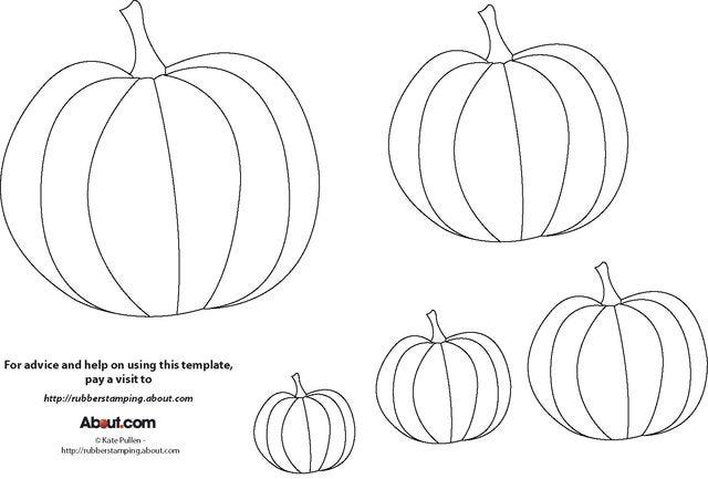 43 No-Carve Pumpkin Decorating Ideas Pumpkin template, Template - patterns for halloween decorations