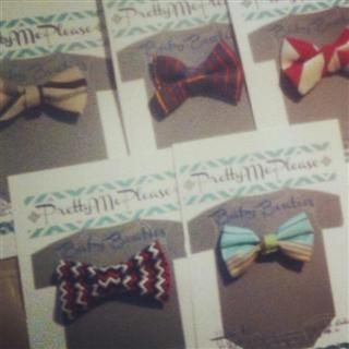 Baby Bowties by PrettyMePlease