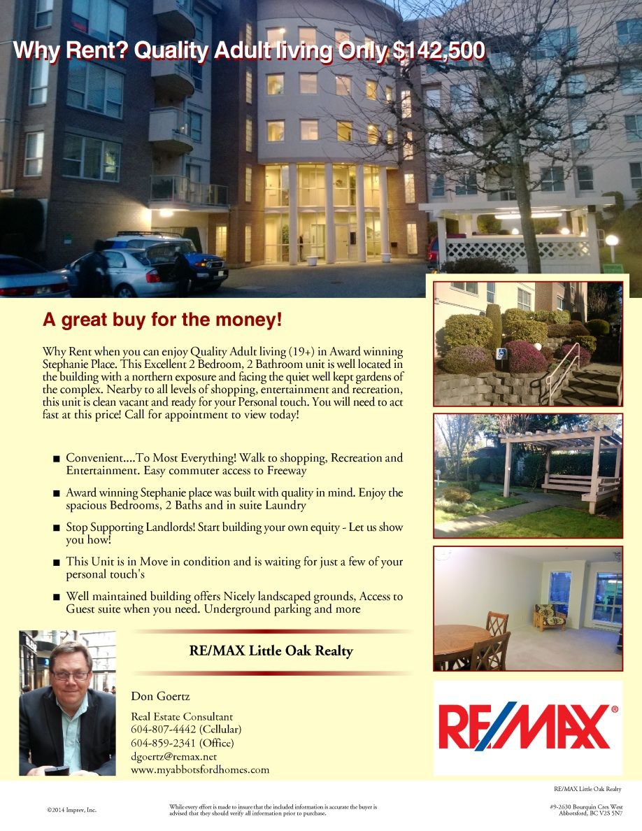 Newly listed in Stephanie Place