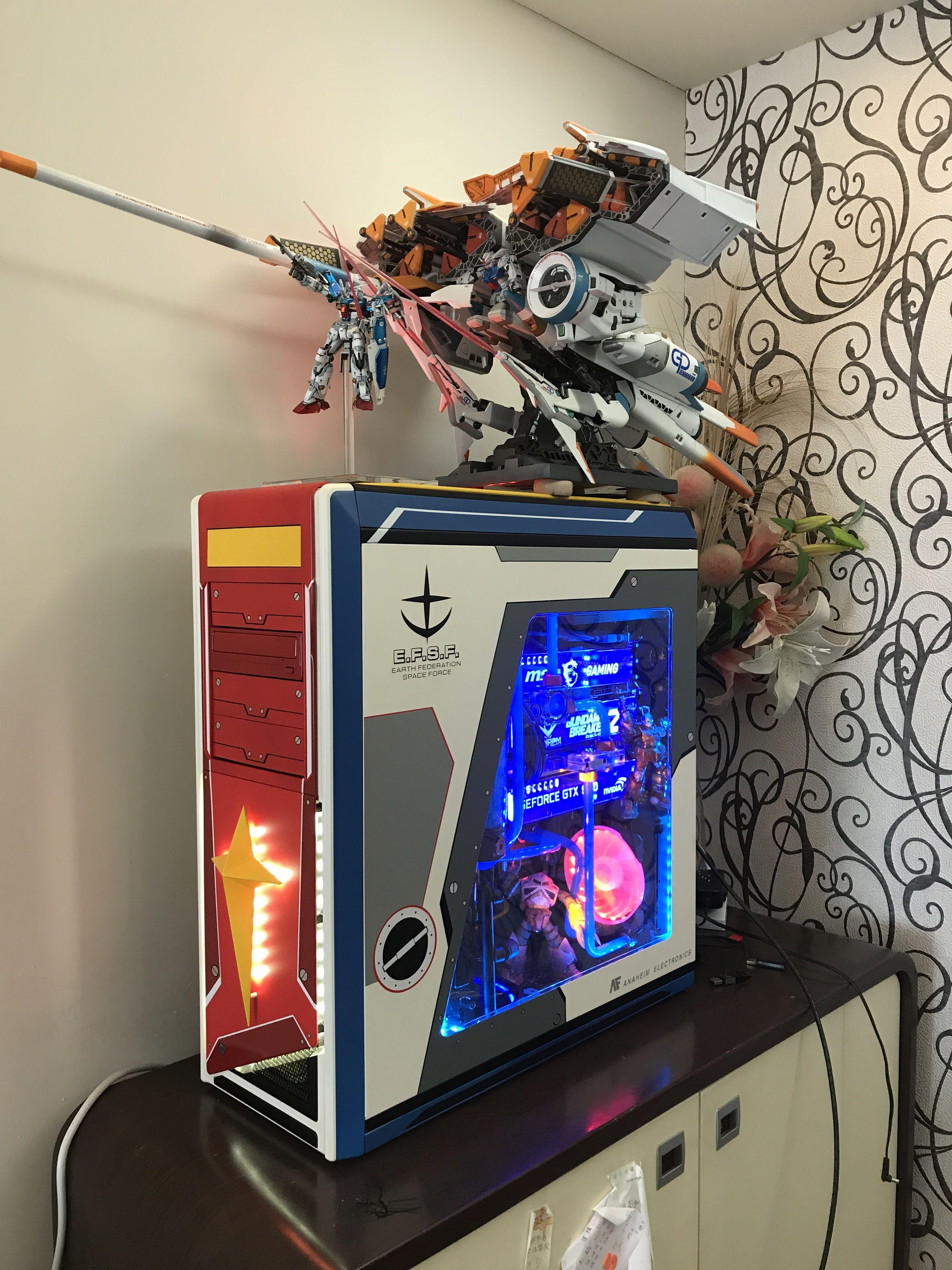 Gundam water cooling RTX PC Gundam, Arcade games