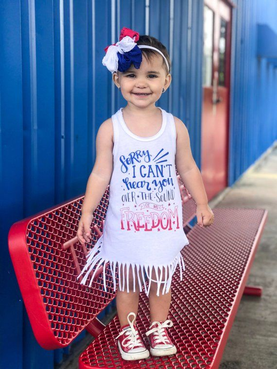 20b33820f5 Girl 4th of July dress - girl 4th of July outfit - baby girl - toddler girl  - beach cover up - fring