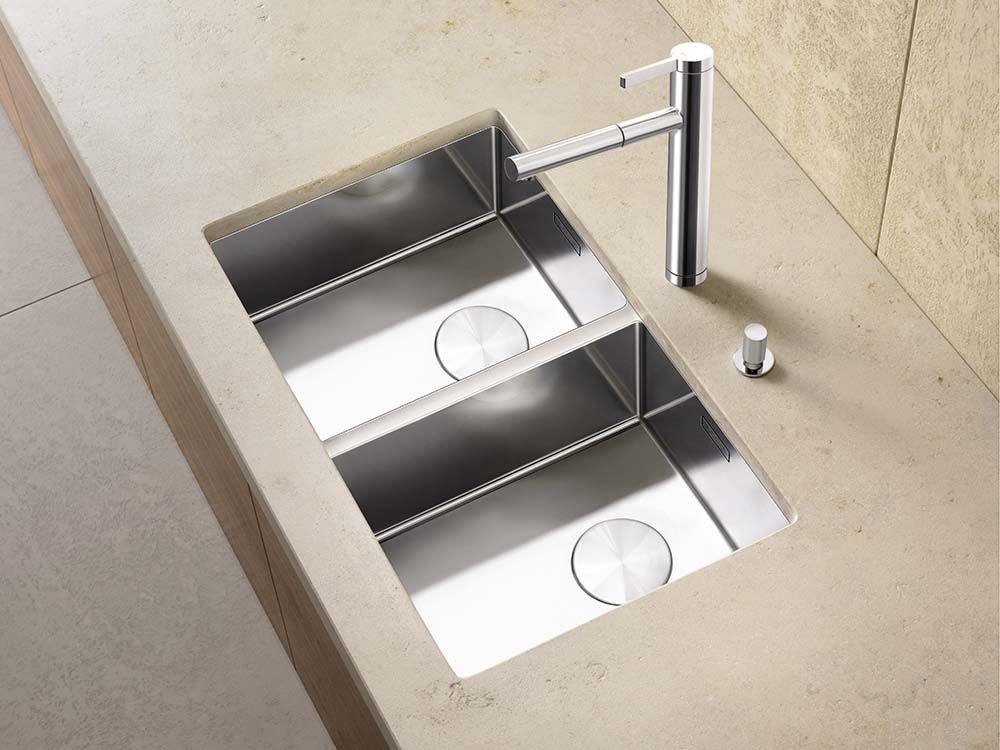 Küchenspülbecken blanco ~ Blanco claron u blanco steelart sinks
