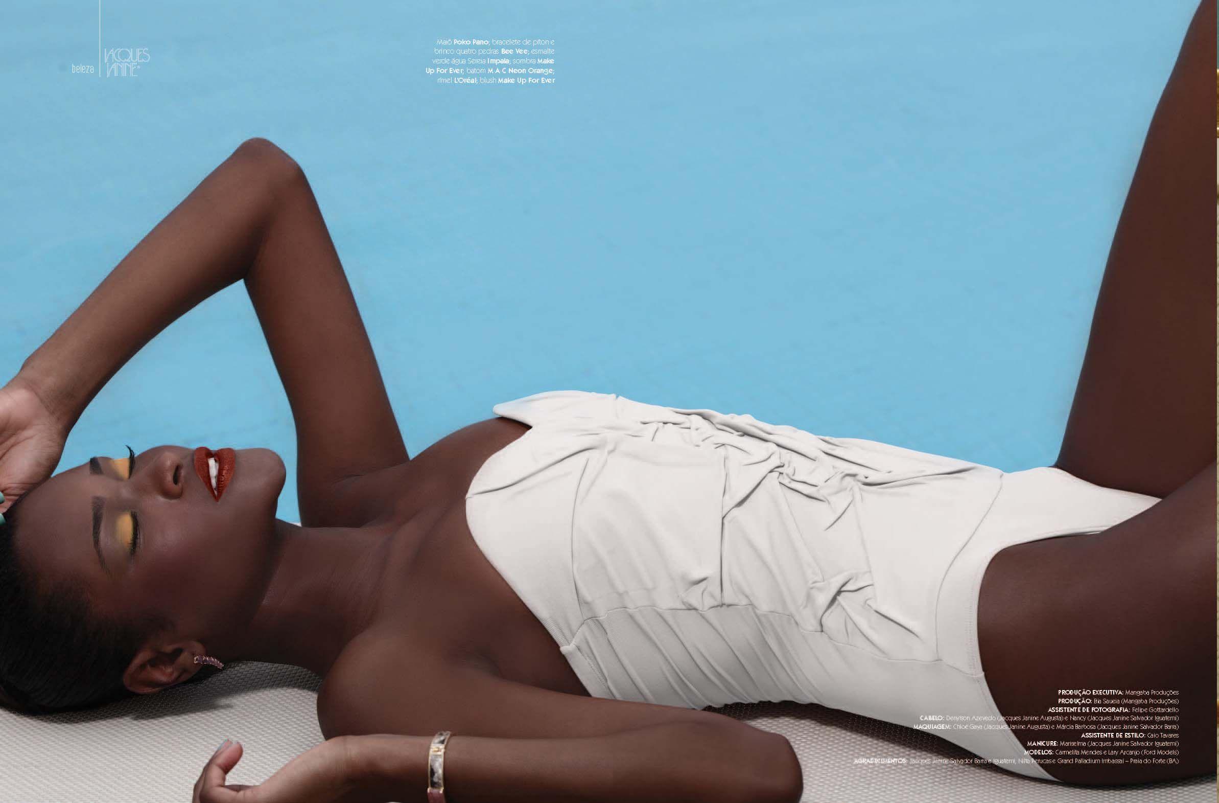 """Editorial """"Mergulhe no Verão"""" da Revista Jacques Janine #5 - Foto: Márcio Del Nero"""