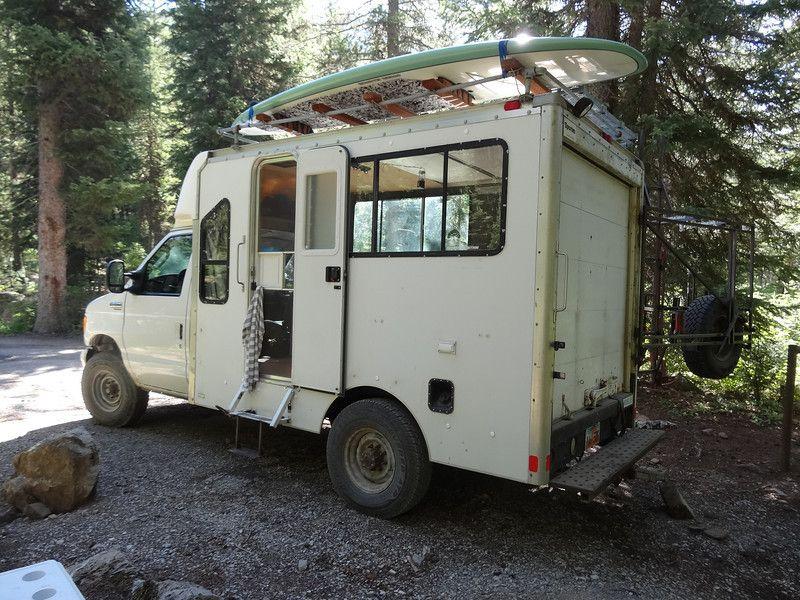 2004 E 350 Custom Camper Andre Shoumatoff In 2020 Truck Camper Custom Campers Camper Conversion