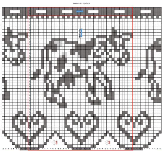 gardinen vorhang h keln fileth keln kuh anleitung. Black Bedroom Furniture Sets. Home Design Ideas