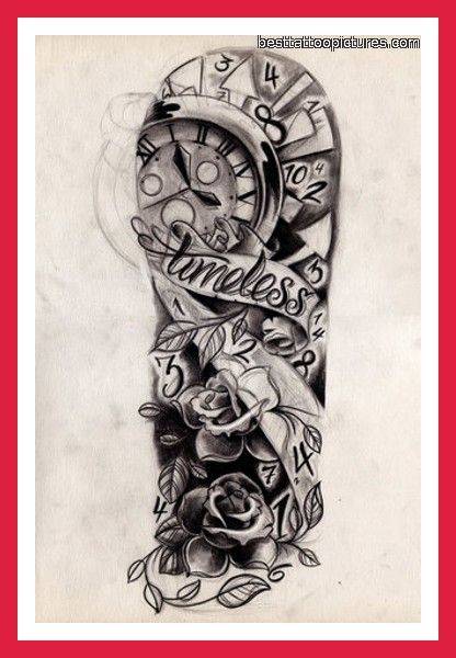 Half Sleeve Tattoo Sketches For Men