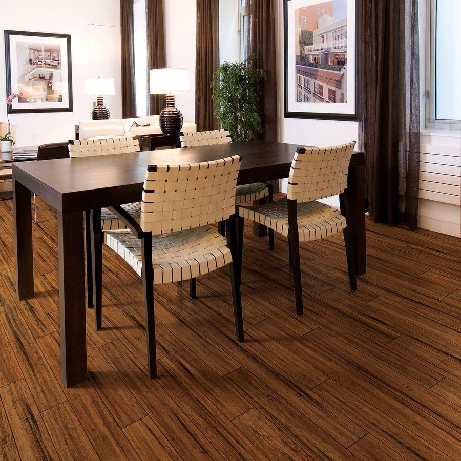 Shop Natural Floors by USFloors Exotic Hardwood 492in W Prefinished Bamboo Locking Hardwood