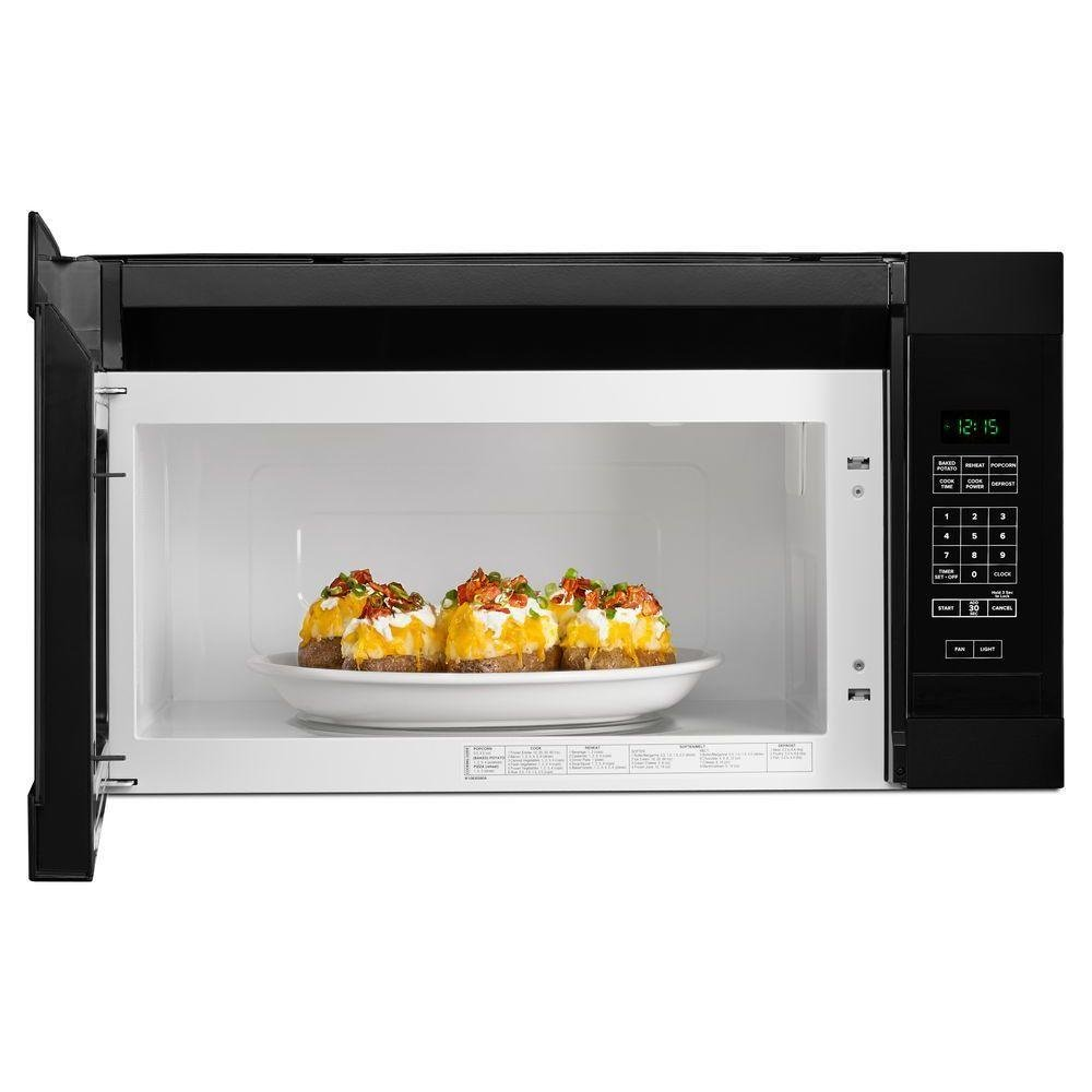 Amana Over The Range Microwave 1 6 Cu Ft Black Products In