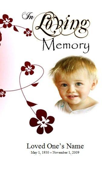 memorial service programs sample for boy funeral program - free printable funeral programs templates
