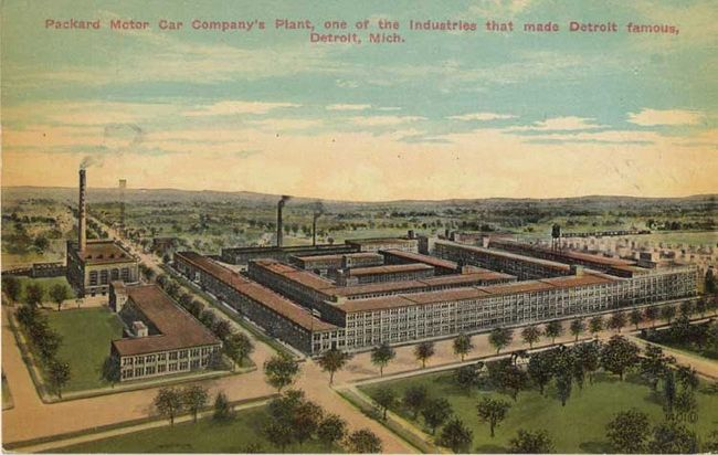 Packard Plant Owner Plans Partial Restoration With Origina