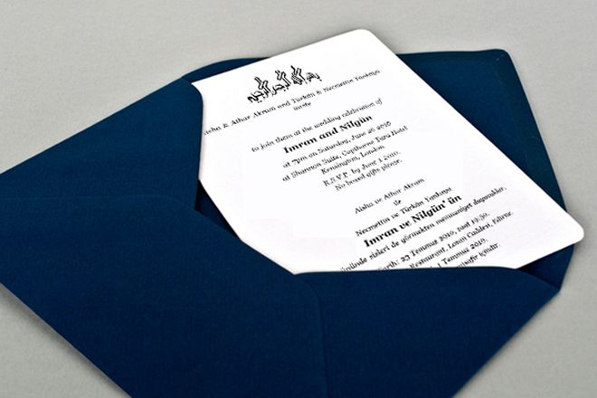 Unique Wedding Cards for Muslim Marriage - Must See    www - best of invitation text adalah