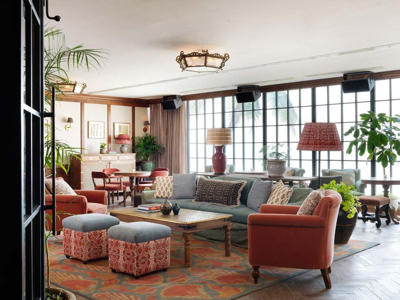 Soho House Opens Their First Location In Asia Mumbai Soho House Soho House Istanbul Home Living Room