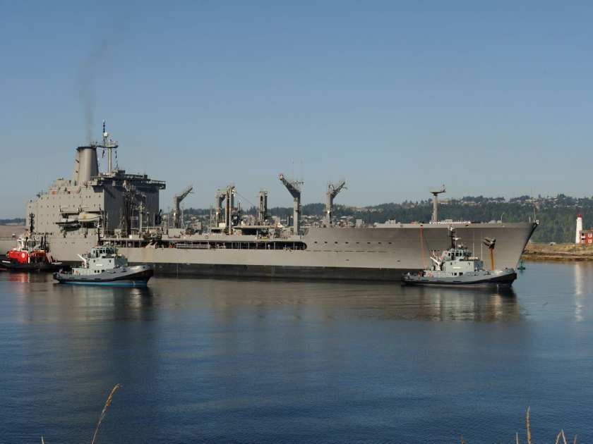 Chilean Navy Supply Ship Arrives To Provide Support To Royal Canadian Navy Royal Canadian Navy Ship Canadian Pacific