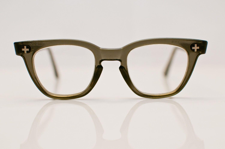 1960s gray safety glasses a safe bet vintage glasses