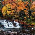 Middle Falls Of Letchworth State Park by Mark Papke #letchworthstatepark