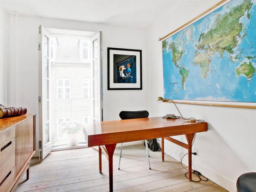 Muebles de cocina de madera ladrillo visto estilo n rdico for Decoracion casa adosada