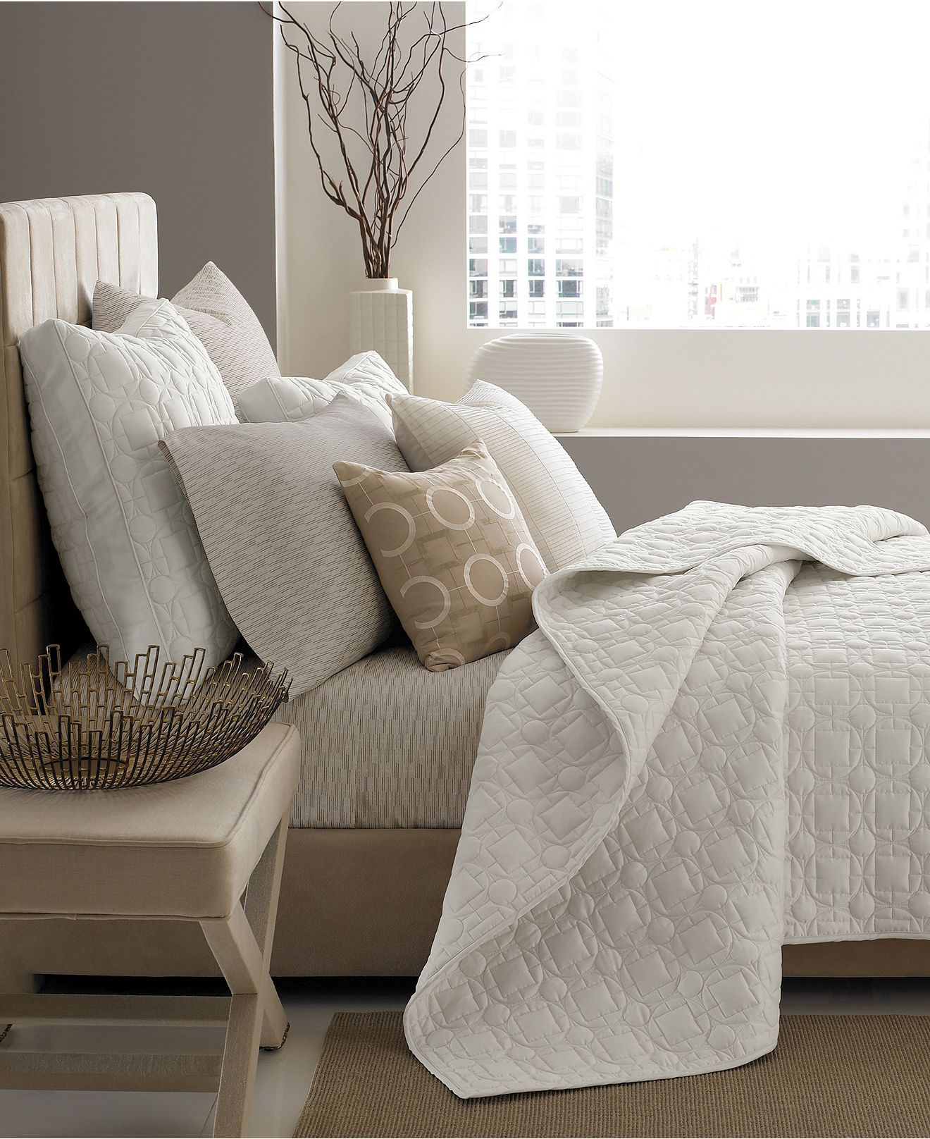 Hotel Collection Platinum: Lakehouse Bedding- Almost Exactly What I Am Looking For