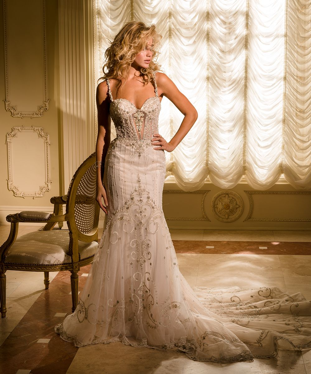 Danielle Caprese Wedding Gowns: IN STORE!!! Eve Of Milady Couture Collection Style 4344