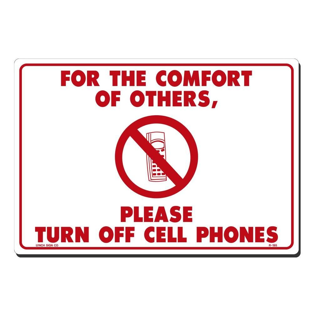 Pin On 21st Century Teachers Turn off cell phones sign