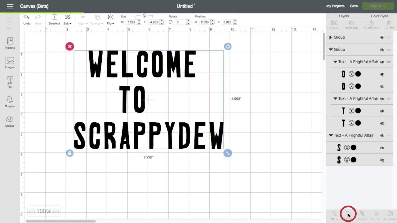 Cricut Design Space 3: Scrambled Letters/Design Help | Cricut