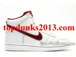 Goodfellas Mafia Edition White team Red Nike Dunk High Top Premium SB High  Quality