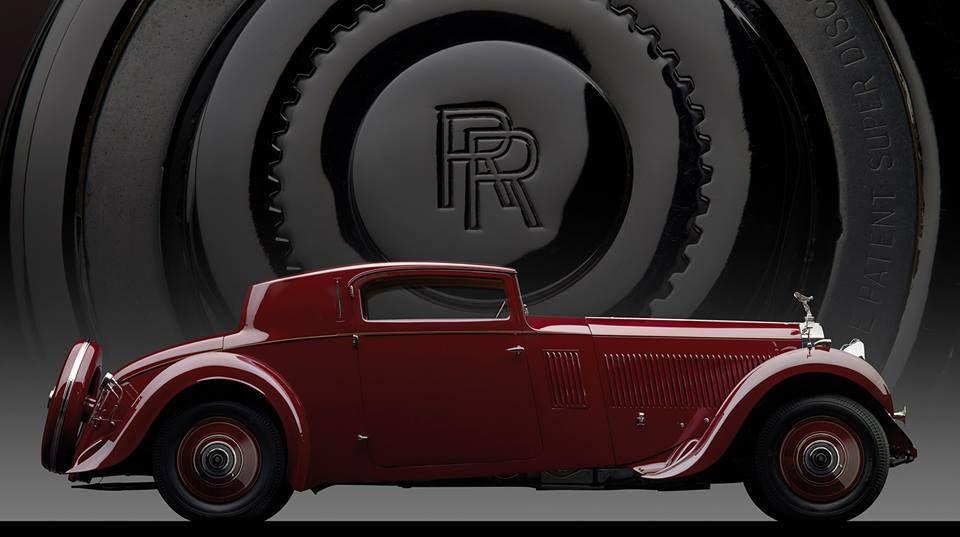 1933 ROLLS-ROYCE PHANTOM II CONTINENTAL SPORTS COUPÉ BY FREESTONE & WEBB This Rolls-Royce Phantom II Continental Sports C… | Rolls royce, Classic cars, Sports coupe