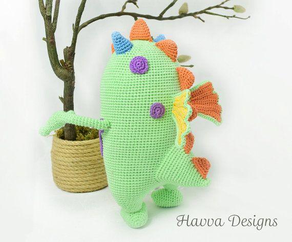Crochet Pattern Cute Monster Kuboo Amigurumi Doll Pattern Affiliate