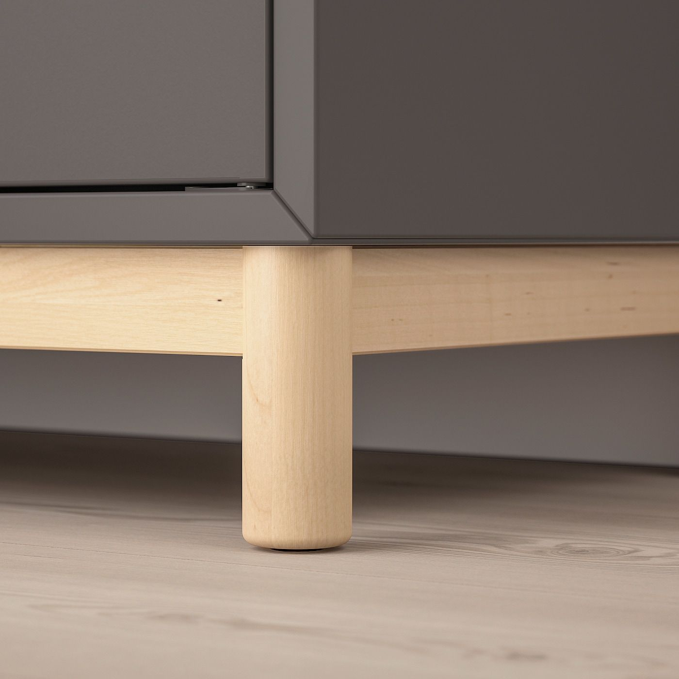Gambe Per Mobili Ikea eket combinazione di mobili con gambe - grigio scuro