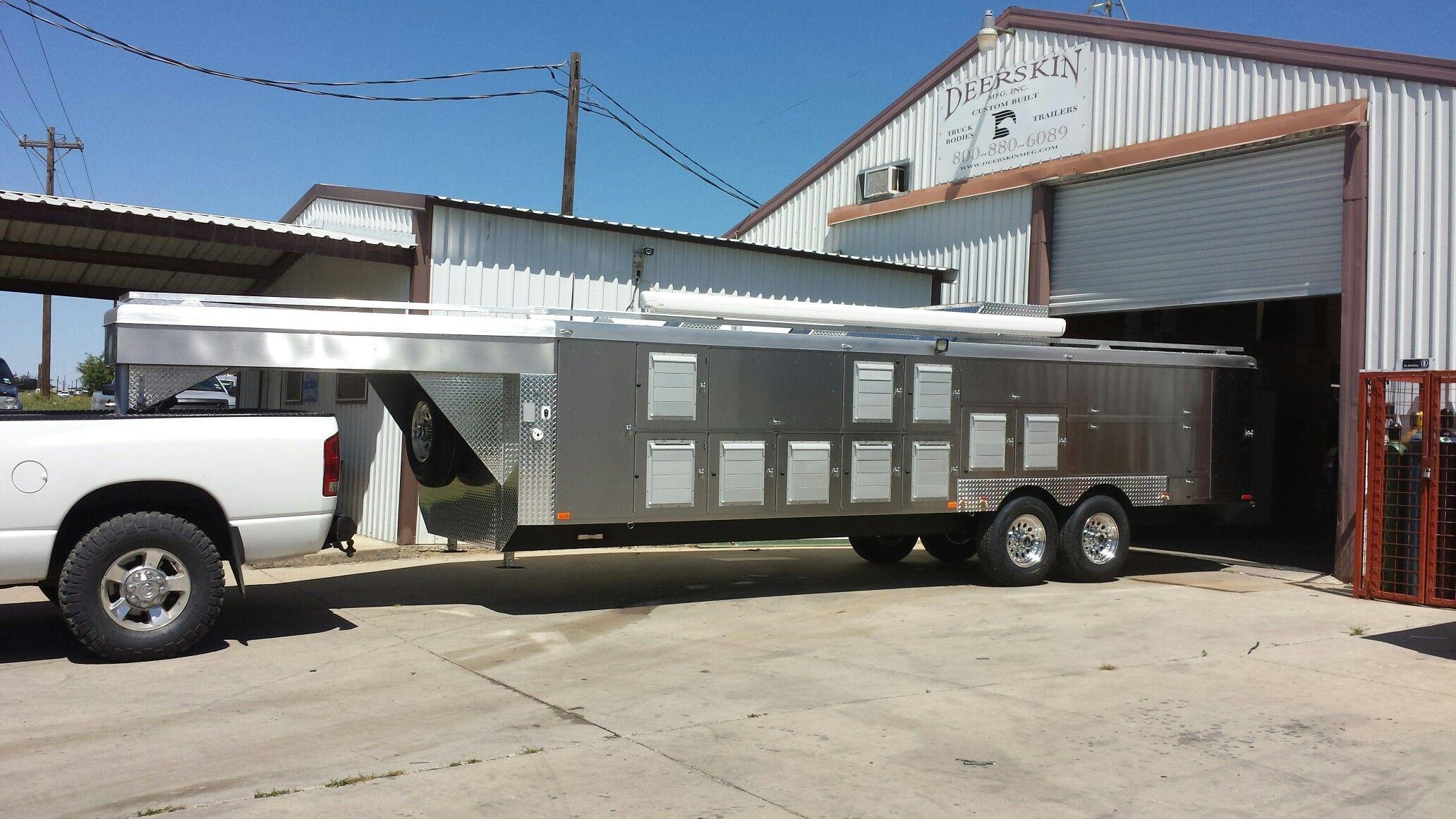 20 hole atv dog trailer