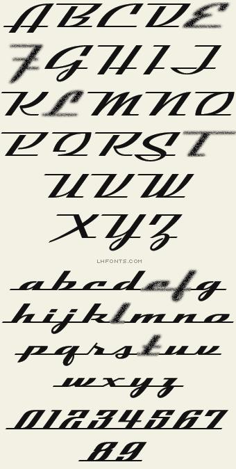 Inspired By Vintage 50 S 60 S Car Emblems Patrick Kalange S Latest Font Evokes Speed And Elegance Free Ph Lettering Hand Lettering Alphabet Lettering Fonts