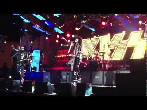 KISS Live 3-20-2012 Jimmy Kimmel