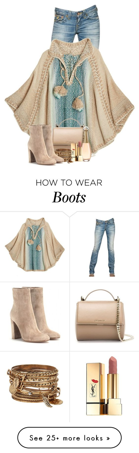 """""""Calypso"""" by flowerchild805 on Polyvore featuring True Religion, Calypso St. Barth, Givenchy, Yves Saint Laurent, ALDO and Gianvito Rossi:"""