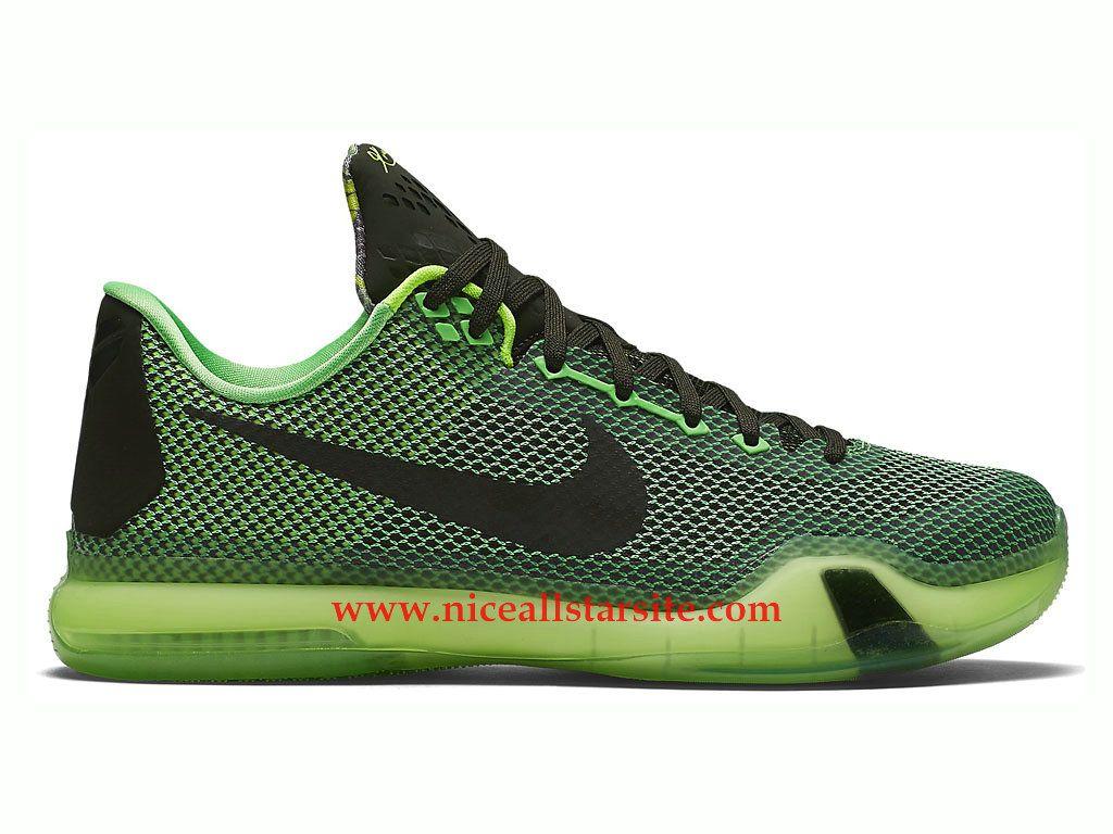 sports shoes 9f54f 2ff66 Nike Kobe 10 X Vino -Chaussures De Basket Pas Cher Pour Homme Noir