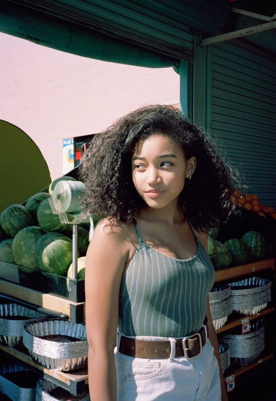Amandla Stenberg Official Website Home With Images Natural