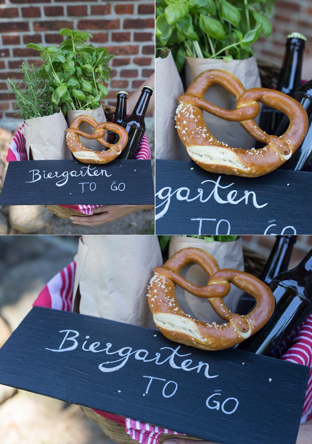 Biergarten to go - DIY Geschenkidee zum Einzug - Geldgeschenke ...