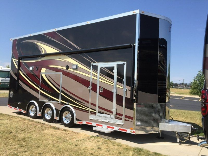 26 All Aluminum Stacker Trailer Offering Custom Interior Features