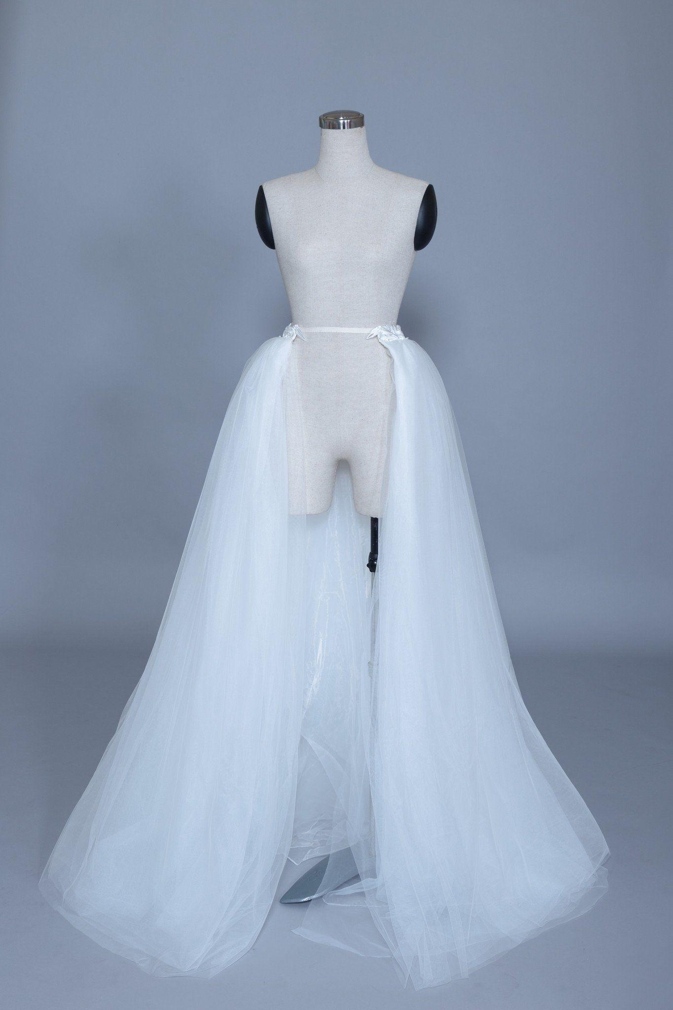 Detachable Bridal Tulle Skirt (Basilia) Tulle wedding