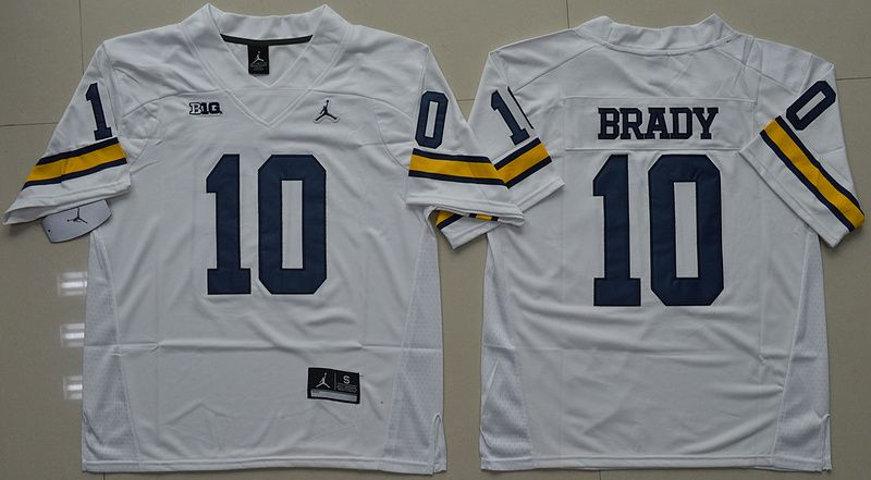 tom brady michigan jersey jordan