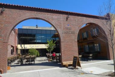 The Bahche: Gowanus Ironworks Turns Warehouse Into Mediterranean Cafe