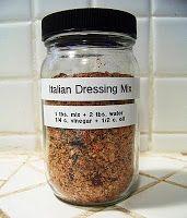 SLMPetersen: Creative Insight: Meals on Mondays - Italian Dressing Mix