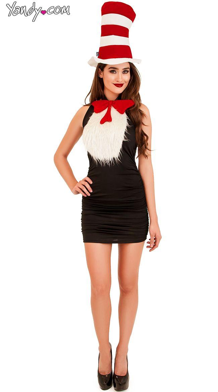 f1996663 Cat in the Hat Tuxedo Kit, $14.95 #besexy #yandydotcom   Costume ...