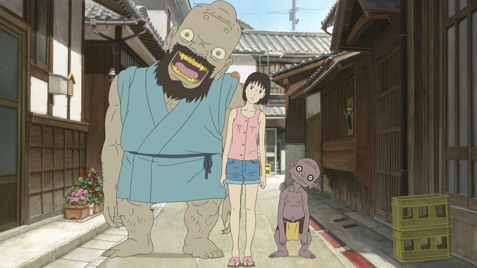 A LETTER TO MOMO (MOMO E NO TEGAMI) - Hiroyuki Okiura